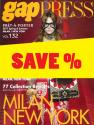 Gap Press Collections no. 132 Milan/New York S/S 2017