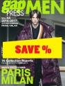 Gap Press Men no. 44 Paris/Milan A7W 2016/2017