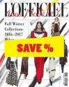 L'Officiel 1.000 Models no. 162 Pret a Porter Milan/New York A/W 2016/2017