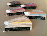 210 New PANTONE Cotton Strips - numerical order on 5 rings