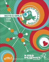 Kids Planet Motif Collection Boys & Girls Vol. 1 incl. DVD