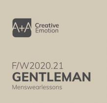 A + A Gentlemen - Men's Color  Trends A/W 2020/2021