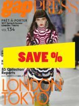 Gap Press Collections no. 134 London/Tokyo S/S 2017