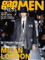Gap Press Men no. 52 Milan/London A/W 2018/2019