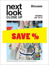 Next Look Close Up Women Blouses no. 04 A/W 2018/2019