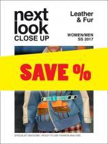 Next Look Close Up Women/Men Leather &  Fur no. 01 S/S 2017