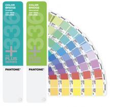 PANTONE PLUS Color Bridge coated & uncoated set 336 colors supplement