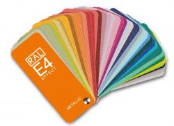RAL E4 Colour fan deck with 70 RAL EFFECT metallic colours