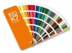 RAL K7 Colour fan deck with 213 RAL CLASSIC colours