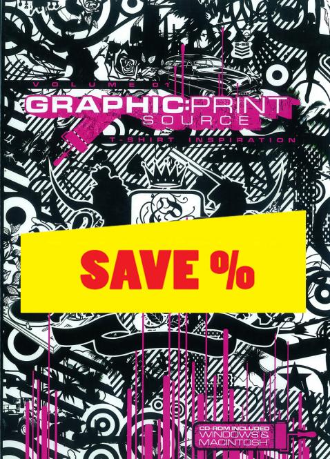 Graphic: Print Source - -R- T-Shirt Inspiration Volume 1 incl. CD-ROM
