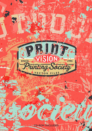 Print Vision by Printing Society incl. CD-ROM