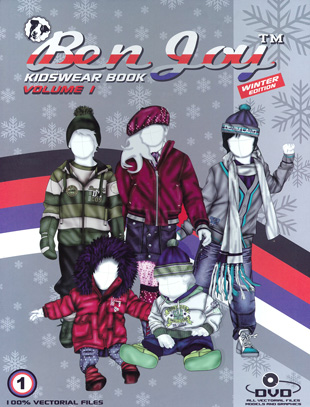 BenJoy Kidswear Book Vol. 1 incl. DVD Winter Edition