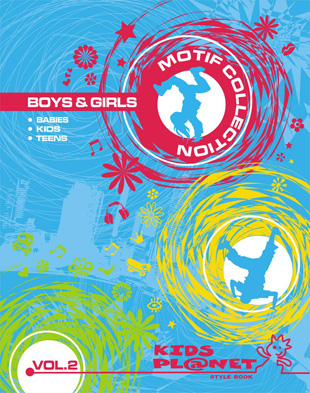 Kids Planet Motif Collection Boys & Girls Vol. 2 incl. DVD