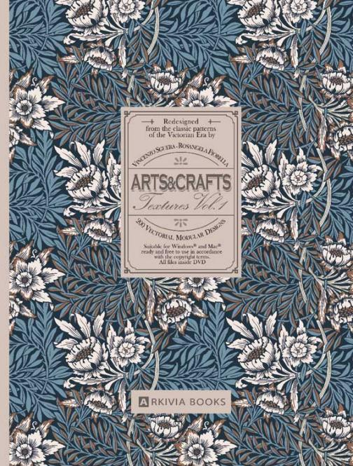 Arts & Crafts Textures Vol. 1 incl. DVD