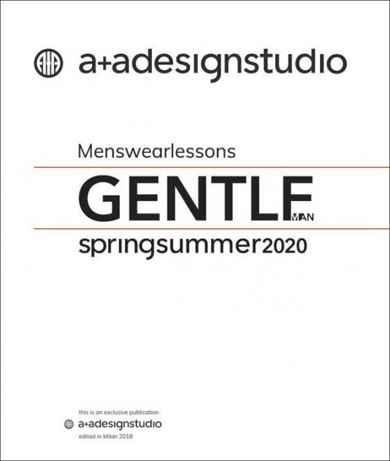 A + A Gentlemen - Men's Color  Trends S/S 2020