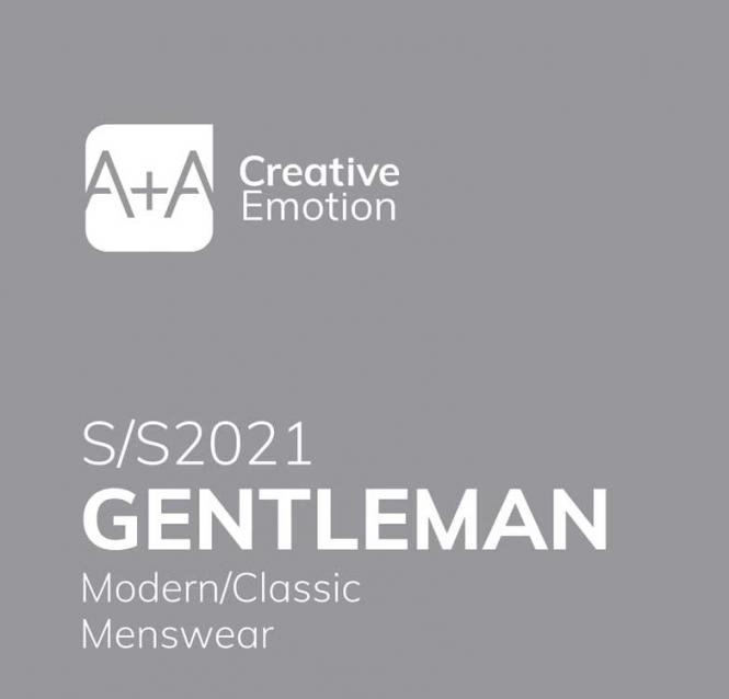 A + A Gentlemen - Men's Color  Trends S/S 2021