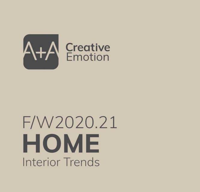 A + A Home Interior Trends A/W 2020/2021