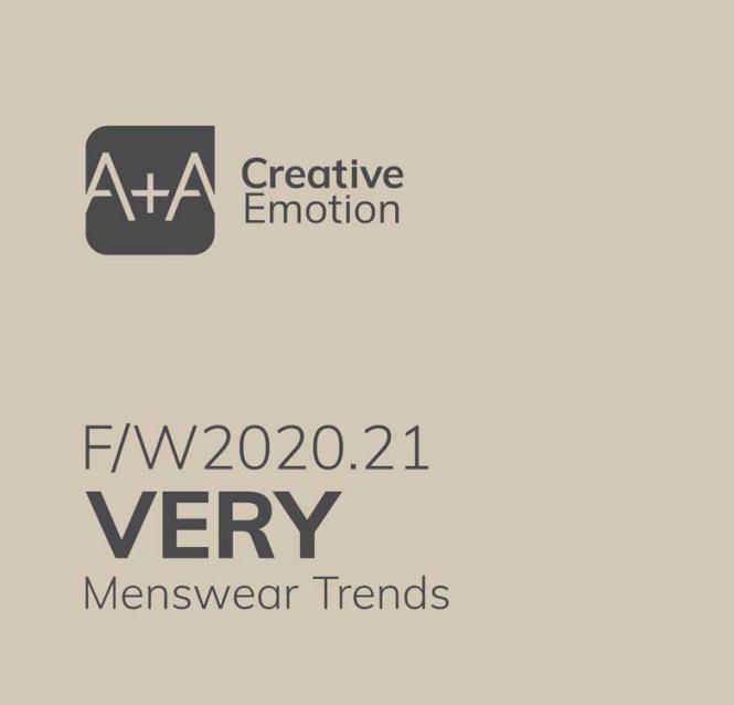 A + A Very Menswear Trends A/W 2020/2021 incl. CD-Rom