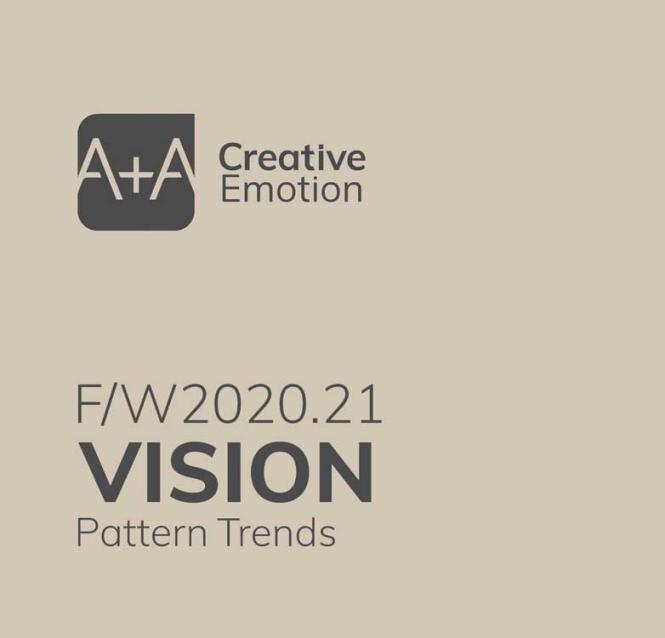 A + A Vision Pattern Trends A/W 2020/2021 incl. CD-Rom