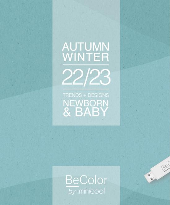 BeColor Newborn & Baby A/W 2022/2023 incl. USB