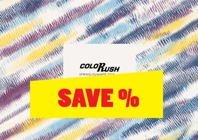 Colorush S/S 2018 incl. USB Stick