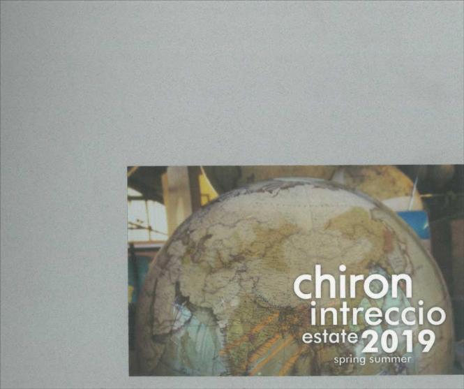 Chiron Intreccio (Tendenzen) S/S 2019