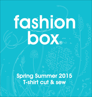 Fashion Box T-shirt cut&sew S/S 2015 incl. CD-Rom