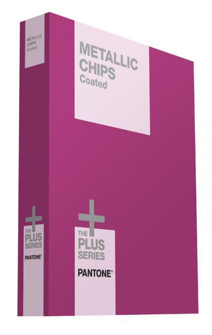 PANTONE PLUS Metallic Chips coated