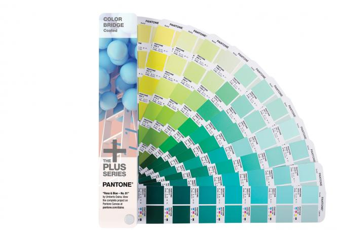 PANTONE PLUS Color Bridge C Guide coated