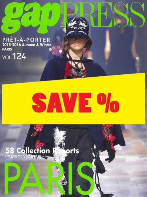 Gap Press Collections no. 124 Paris A/W 2015/2016