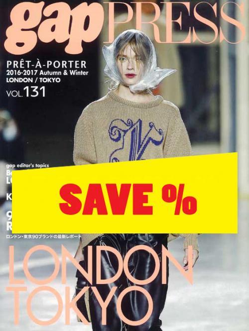 Gap Press Collections no. 131 London/Tokyo A/W 2016/2017