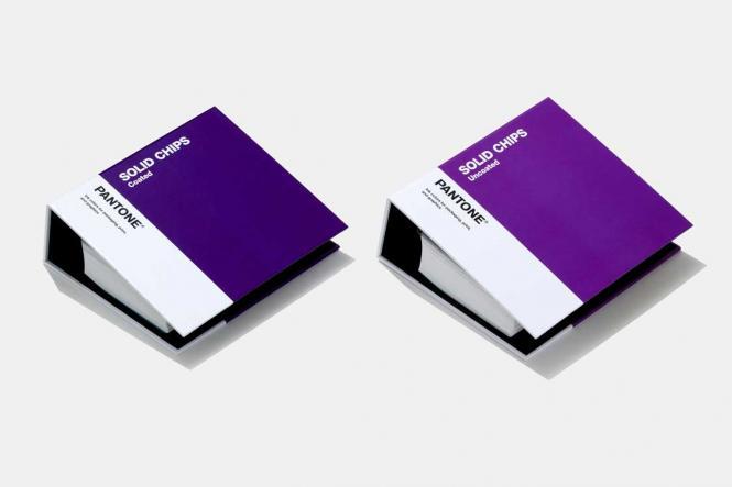 PANTONE Solid Chips Set coated & uncoated (2-book set)