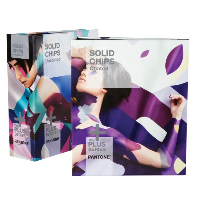 PANTONE PLUS Solid Chips CU coated & uncoated (2-book set)