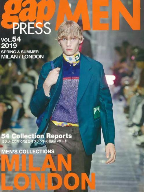 Gap Press Men no. 54 Milan/London S/S 2019