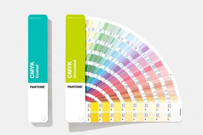 PANTONE CMYK Set coated & uncoated