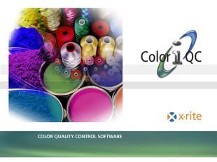 Color iQC Software Basic Qualitätssicherungssoftware