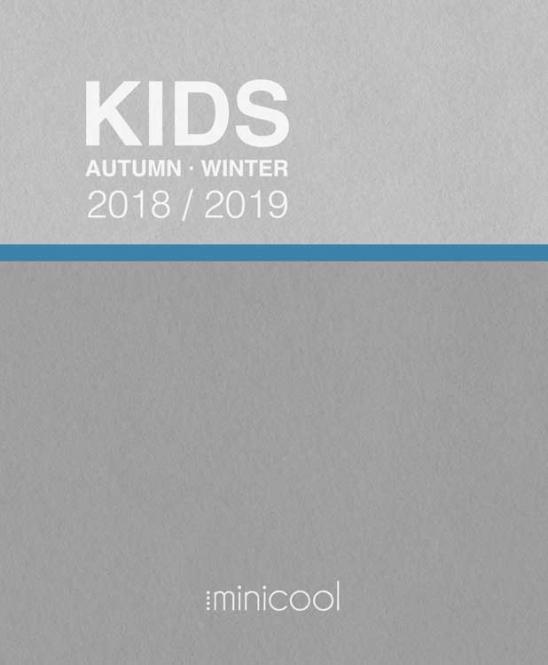 Minicool KIDS A/W 2018/2019 incl. USB