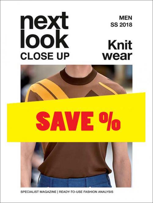 Next Look Close Up Men Knitwear no. 01 S/S 2018