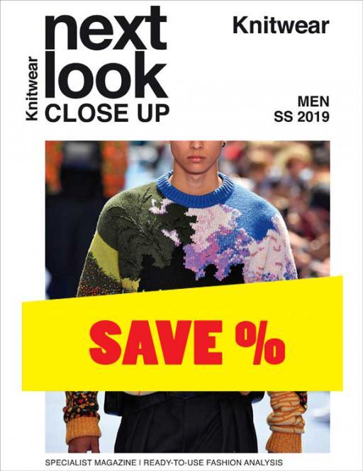 Next Look Close Up Men Knitwear no. 05 S/S 2019