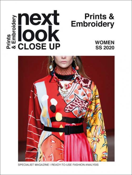 Next Look Close Up Women Print Embroidery no. 07 S/S 2020