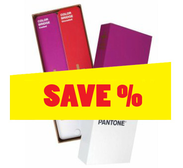 PANTONE PLUS Color Bridge coated & uncoated set 50th Anniversary Edition