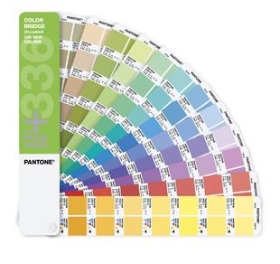 PANTONE PLUS Color Bridge uncoated 336 colors supplement