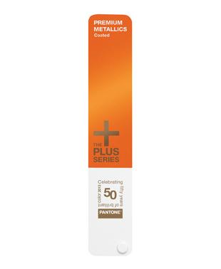 PANTONE PLUS Premium Metallics Guide coated 50th Anniversary Edition