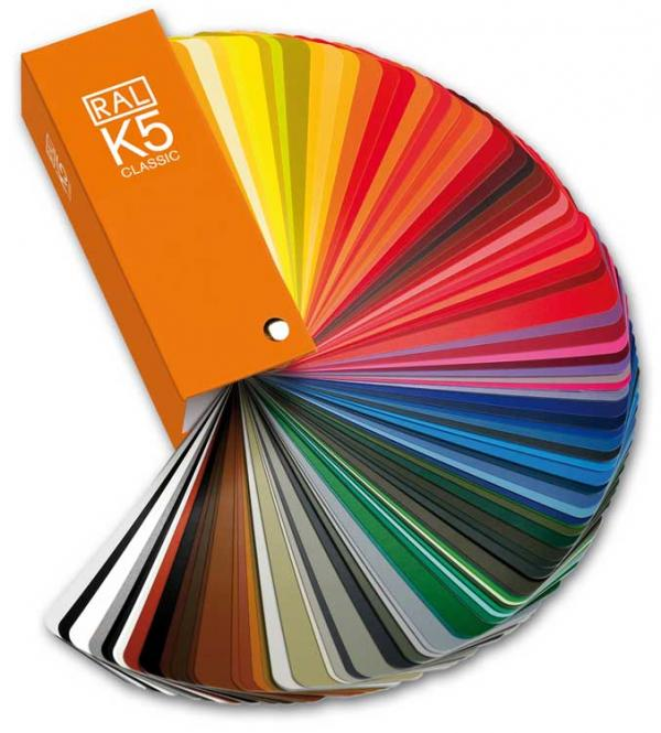 RAL K5 Colour fan deck with 213 RAL CLASSIC colours - Gloss