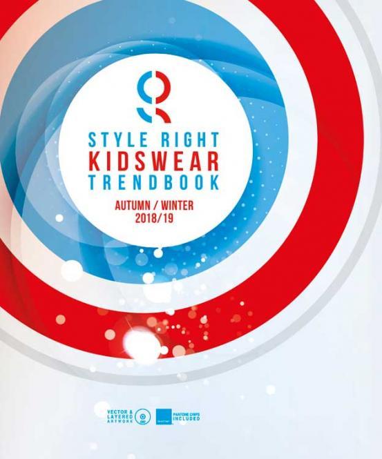 Style Right Kidswear Trendbook A/W 2018/2019 incl. DVD