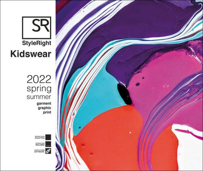 Style Right Kidswear Trendbook S/S 2022  incl. USB