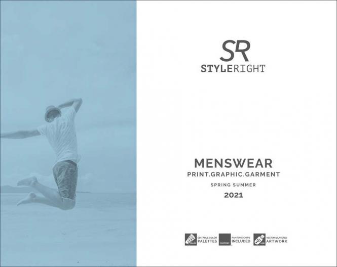 Style Right Menswear Trendbook S/S 2021 incl. USB
