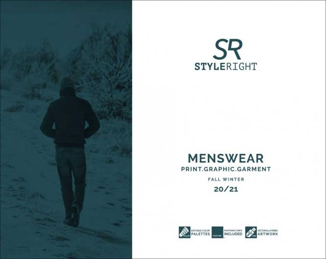 Style Right Menswear Trendbook A/W 2020/2021 incl. USB