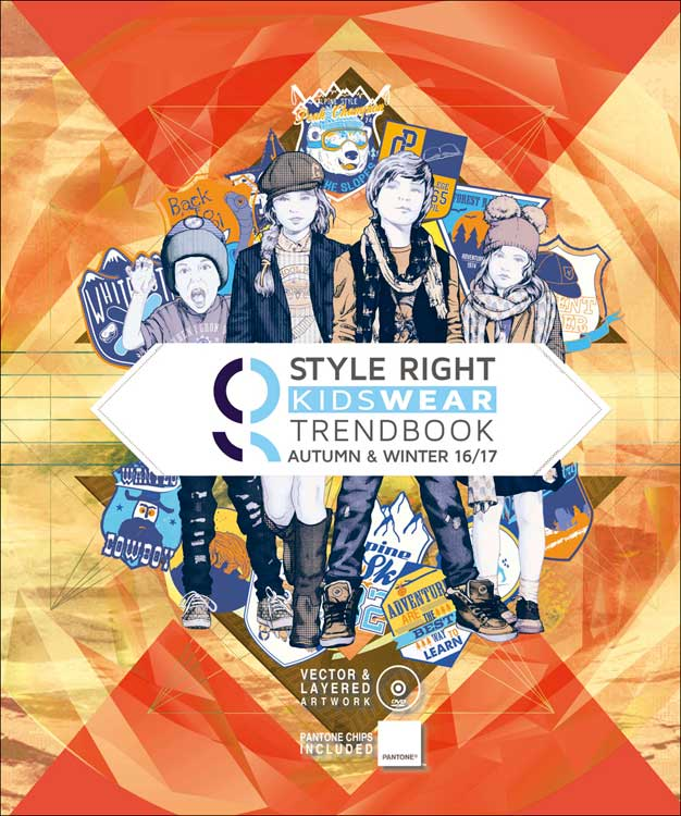Fashion trend forecast 2017 - Style Right Kidswear Trendbook A W 2016 2017 Incl Dvd