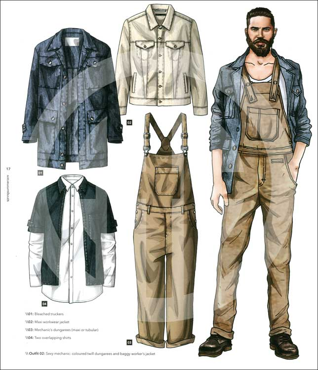 A A Men S Fashion Trends S S 2019 Incl Cd Rom Mode